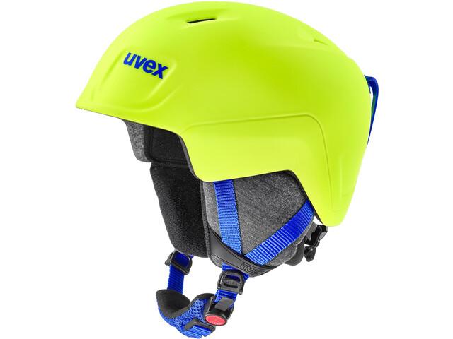 UVEX Manic Pro Helmet Kids, neon yellow